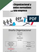 Diseño Organizacional y Documentos Normativos de Una Empresa