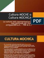 Cultura Moche o Cultura Mochica JEAN CARLOS