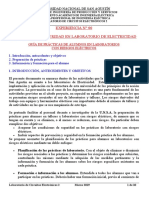 Lab 00 Circuitos Electronicos 2