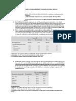 Ejercicios de Distribuciones de Probabilidad y Riesgo Rendimiento 1
