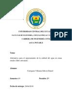 Cartagena Edison _ Filtro de Casero Valido Para La Utilizacion en Zonas Rurales