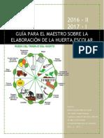 Anexo No 36. Guía Para La Elaboración de Huertas Escolares (1)