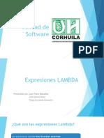 Expresiones LAMBDA