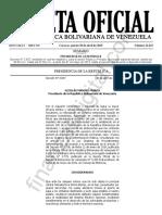 GacetaOficial41623-Decreto-3837