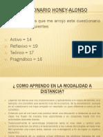 Cuestionario Honey Alonso