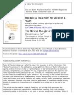 zimmerman 1993 the clinical thought of bettelheim.pdf