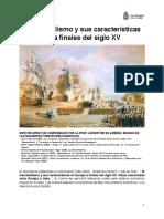 El Mercantilismo y Sus Características en Europa a Finales Del Siglo XV