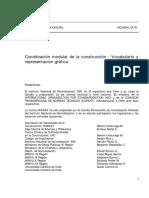 NCh0684-78 COORDINACION MODULAR DE LA CONST..