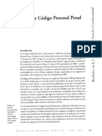 emilio pfeffer, constitucion y código procesal penal