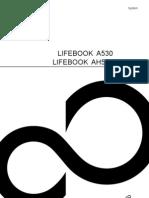 Fujitsu A530 Noetbook EasyGuide