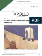 Vanessa Bell Bloomsbury Dulwich _ Apollo Magazine