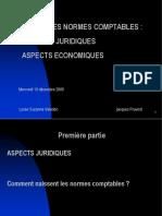 Normes Comptables - Aspects Juridiques Et Economiques