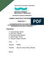 Determinación Gravimétrica de Calcio en Leche