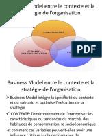 Business Model, Contexte Et Stratégie de l'Organisation