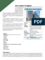 Caso Philip Morris Contra Uruguay