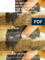 Partial Replacement of Sand to Iron Filing (1)