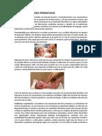 Factores de Riesgo Perinatales