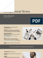 storyboard occupation stress