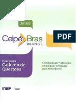 2018_Caderno de Questoes