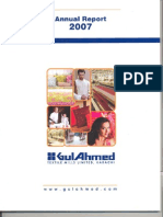 Gul Ahmed Annual Report 2007