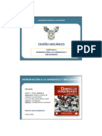 4. Diseño - Capitulo 4. Cinematica y Mecanismos (1)