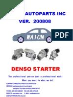 Denso Starter 200808