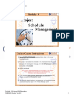 Module 9 - Project Schedule Management_V6_2018