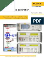 Calibracion de Osciloscopio