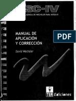 WISC-IV Aplicación - Corrección.pdf