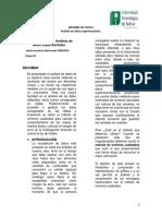 Informe de laboratorio 2. fisica I.