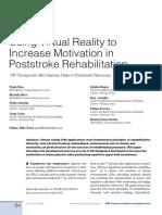 Virtual Reality Rehabilitation