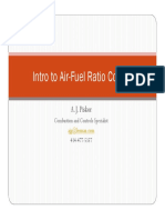 Air Fuel Ratio Control