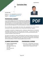 Raju Mahadevan Resume - Quality Control Engineer