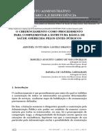 A&C 2013 51 a Reserva Do Possível Como Limite à Efetividade Do Direito Fundamental à Saúde Joseane L Gloeckner MSc