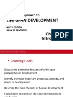 A Topical Approach to Life-Span Development Chapter 1