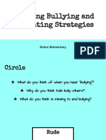 defining bullying and preventing strategies