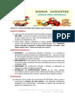 PROYECTO  TODOS JUNTOS BUSCANDO UNA SONRISA - OBJETIVO,METAS,DESARROLLO E IMPLEMENTACION.docx