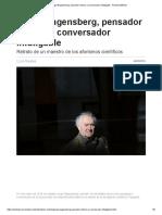 Jorge Wagensberg, Pensador Intruso y Conversador Infatigable