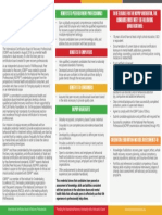 PARfessionals Credential Fact Sheet  (2014)