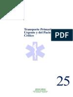 25 Transporte Primario Urgente