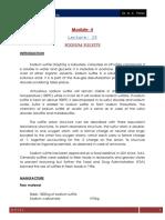 Lecture 23 Sodium Sulfite