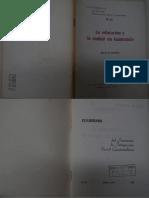 La educación y la ciudad de Guatemala