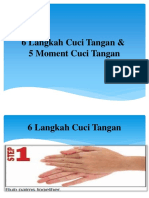 6 Langkah Cuci Tangan &