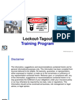 Lockout Tagout Training Module 30JAN2018