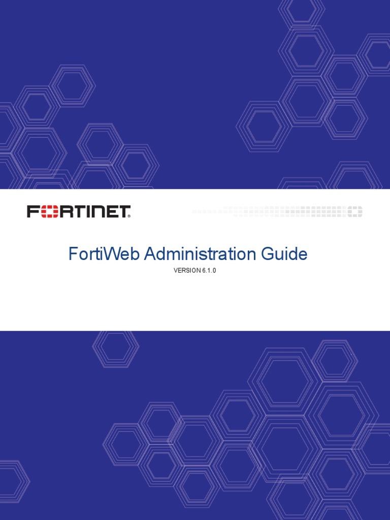 fortiweb-v6 1 0-admin-guide pdf   Transport Layer Security   Public