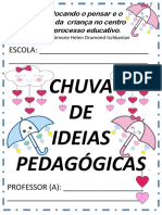 1 Chuva de Ideias Pedagogicas Simone Drumond
