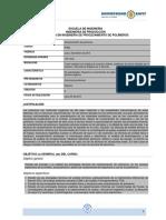 IP062-Caracterización de Polímeros Programa