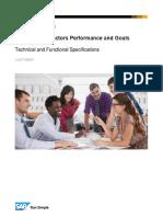 Sap Successfactors Performance and Goals Specification