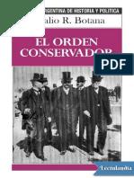 El orden conservador - Natalio R Botana (1).pdf