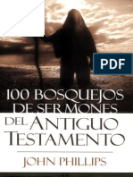 313305530 100 Bosquejos de Sermones Del Antiguo Testamento 100ent Sermon Outlines Spanish Edition John Phillips